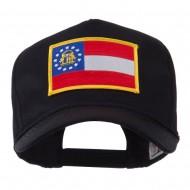 USA Eastern State Embroidered Patch Cap - Georgia