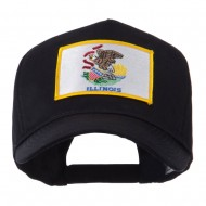 USA Eastern State Embroidered Patch Cap - Illinois