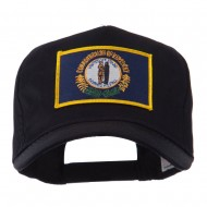 USA Eastern State Embroidered Patch Cap - Kentucky