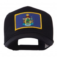 USA Eastern State Embroidered Patch Cap - Maine