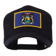 USA Eastern State Embroidered Patch Cap - Michigan