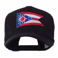 USA Eastern State Embroidered Patch Cap - Ohio