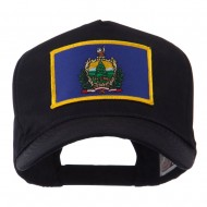 USA Eastern State Embroidered Patch Cap - Vermont