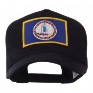 USA Eastern State Embroidered Patch Cap - Virginia