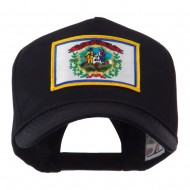 USA Eastern State Embroidered Patch Cap - West Virginia