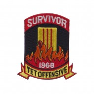 ETC Embroidered Military Patch - Survivor