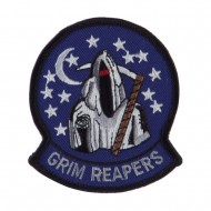 ETC Embroidered Military Patch - Grim