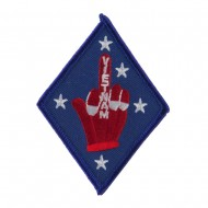 ETC Embroidered Military Patch - Finger