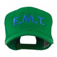 Emergency Medical Technician Embroidered Cap - Kelly Green