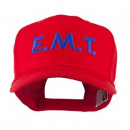 Emergency Medical Technician Embroidered Cap - Red