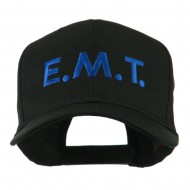 Emergency Medical Technician Embroidered Cap - Black