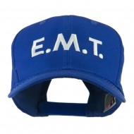 Emergency Medical Technician Embroidered Cap - Royal