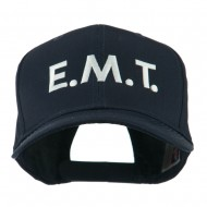 Emergency Medical Technician Embroidered Cap - Navy