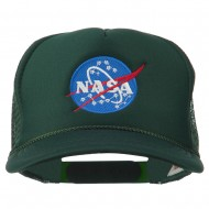 NASA Insignia Embroidered Youth Foam Mesh Cap - Green