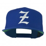 Old English Z Embroidered Cap - Royal