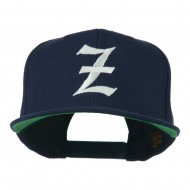 Old English Z Embroidered Cap - Navy