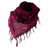 Flush Fashion Checkered Scarf - Fuchsia