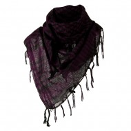 Flush Fashion Checkered Scarf - Purple