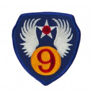 Air Force Division Embroidered Military Patch - 9th