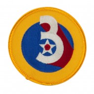 Air Force Division Embroidered Military Patch - 3rd