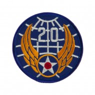 Air Force Division Embroidered Military Patch - 20th