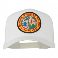 Florida State Patched Mesh Cap - White