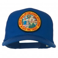 Florida State Patched Mesh Cap - Royal