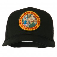 Florida State Patched Mesh Cap - Black