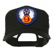 Air Force Division Embroidered Military Patch Cap - 9th
