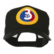 Air Force Division Embroidered Military Patch Cap - 3rd