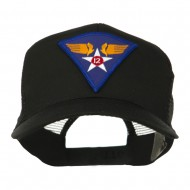Air Force Division Embroidered Military Patch Cap - 12th