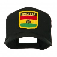 South America Flag Shield Patched Cap - Bolivia