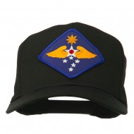 Far East Air Force Patched Cap - Black