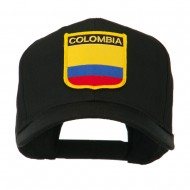 South America Flag Shield Patched Cap - Colombia