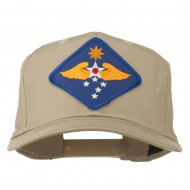 Far East Air Force Patched Cap - Khaki