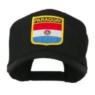 South America Flag Shield Patched Cap - Paraguay