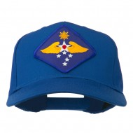 Far East Air Force Patched Cap - Royal
