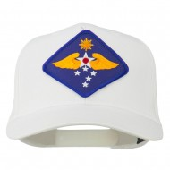 Far East Air Force Patched Cap - White