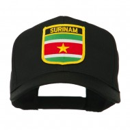 South America Flag Shield Patched Cap - Suriname