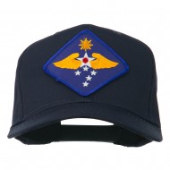 Far East Air Force Patched Cap - Navy