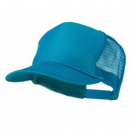 Foam Front Golf Style Mesh Back Cap - Turquoise