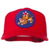 14th Air Force Division Patched Cap - Red