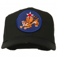 14th Air Force Division Patched Cap - Black