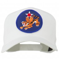 14th Air Force Division Patched Cap - White