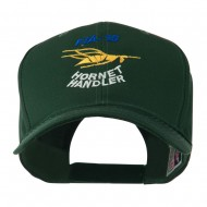 FIA 18 Hornet Handler with Image of a Hornet Embroidered Cap - Green