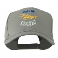FIA 18 Hornet Handler with Image of a Hornet Embroidered Cap - Grey