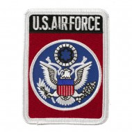 Air Force Logo Mixed Patches - Red