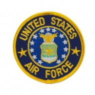 Air Force Embroidered Military Patch - Air Force