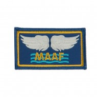 Air Force Embroidered Military Patch - Mediterranean