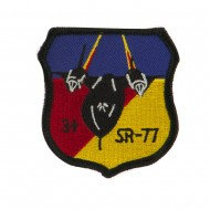 Air Force Embroidered Military Patch - SR 71